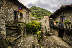 Rodzi średniowieczną wioskę Obrazy Royalty Free