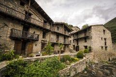 Rodzi średniowieczną wioskę Fotografia Royalty Free