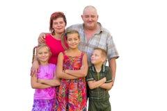 Rodzice, dzieci i Zdjęcie Royalty Free