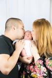 Rodzice i syn Zdjęcia Royalty Free