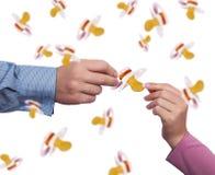 Rodzicielstwa pojęcie Zdjęcia Stock