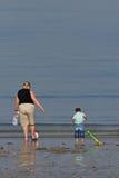 rodzicielstwo przyjemności Fotografia Royalty Free