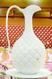 Rodzima Gliniana Ceramiczna Dekoracyjna waza Fotografia Royalty Free