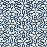 Rodzimego batikowego bezszwowego akwareli boho artystycznego stylu kwadrata kolorowy wzór Zdjęcia Stock