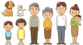 rodzina Zdjęcie Stock