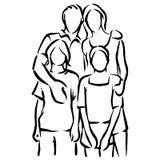 rodzina obraz stock