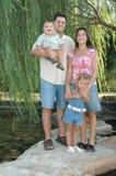 rodzina, cztery Obrazy Stock