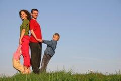 rodzina, cztery obraz royalty free