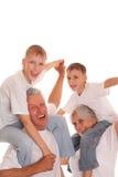 rodzina cztery zdjęcie stock