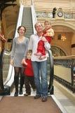 rodzina, cztery Zdjęcie Royalty Free