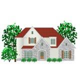 Rodzina dom, ilustracja ilustracji