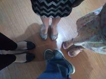 Rodzina 4ever zdjęcie royalty free