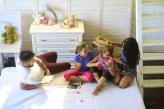 Rodzina i mody pojęcie zdjęcia stock
