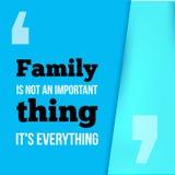 Rodzina jest everything Może używać dla parapetówa plakatów, kartka z pozdrowieniami, sztandary, domowe dekoracje wektor ilustracja wektor