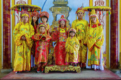 rodzina królewska Zdjęcia Royalty Free