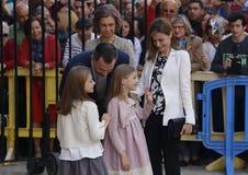 Rodzina królewska 008 Zdjęcia Stock