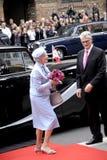 RODZINA KRÓLEWSKA PRZYJEŻDŻA PRZY DUŃSKIM parlamentu otwarciem Obraz Royalty Free