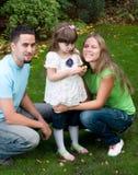rodzina ogród zdjęcie royalty free
