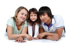 rodzina szczęśliwa Zdjęcia Stock