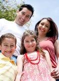 rodzina szczęśliwa Obrazy Stock