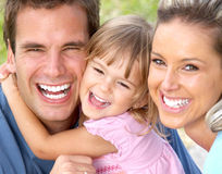 rodzina szczęśliwa Fotografia Royalty Free