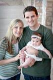 rodzina szczęśliwa Obraz Royalty Free