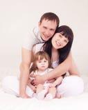 rodzina szczęśliwa Zdjęcie Royalty Free