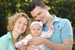 rodzina szczęśliwa obraz stock