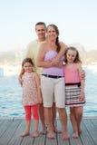 Rodzina wakacje Obrazy Royalty Free