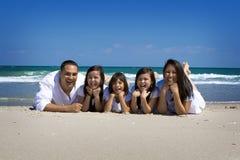Rodzina wakacje Zdjęcia Royalty Free