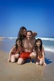 Rodzina wakacje Zdjęcie Royalty Free