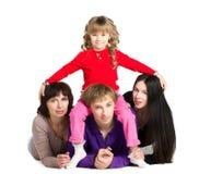 Rodzina wpólnie Obrazy Royalty Free