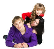 Rodzina wpólnie Obraz Stock