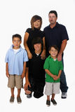 rodzina zmieszana obraz stock