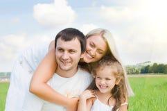 rodzinna łąka Obraz Stock