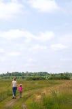 rodzinna łąka Obrazy Royalty Free