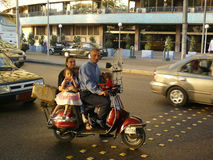 rodzinna Cairo przejażdżka Fotografia Stock