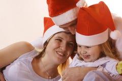 rodzinna gemowa szczęśliwa sztuka Zdjęcia Stock