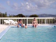 rodzinne wakacje Zdjęcie Royalty Free