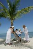rodzinne wakacje Zdjęcia Royalty Free