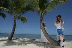 rodzinne wakacje Fotografia Stock