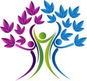 Rodzinnego drzewa ikona Obraz Royalty Free