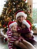 Rodzinni boże narodzenia obrazy royalty free