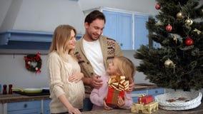Rodzinni odświętność boże narodzenia, nowy rok i zbiory wideo