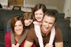 rodzinni potomstwa Obraz Royalty Free