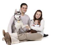 rodzinni potomstwa Zdjęcie Stock