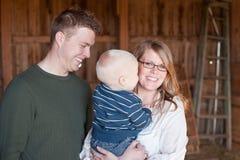 rodzinni potomstwa Fotografia Stock