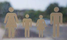 Rodzinni symbole obrazy stock