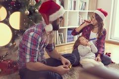 Rodzinni wakacje obrazy royalty free
