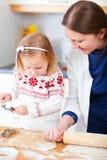 rodzinni wypiekowi ciastka Zdjęcia Royalty Free